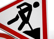 Начался ремонт эстакады на пересечении Ленинградки и Международного шоссе