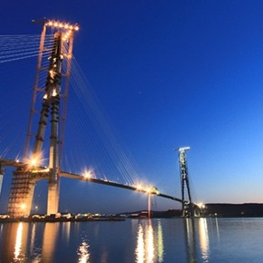 Мост на остров Русский достроен!