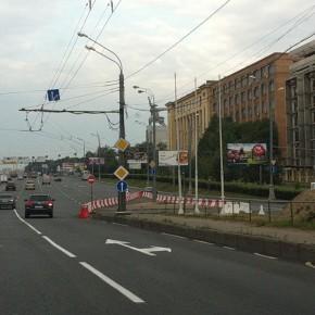 Изменена организация движения на съезде с Ростокинского путепровода