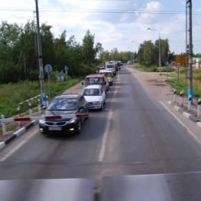 Строительство нового путепровода через железную дорогу в Селятино