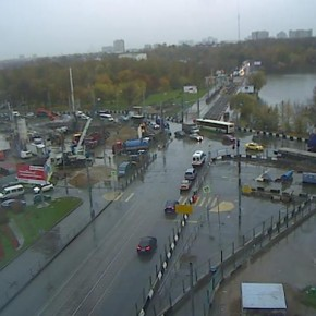 Ремонт трамвайных путей от Большой Академической до Тимирязевской улицы