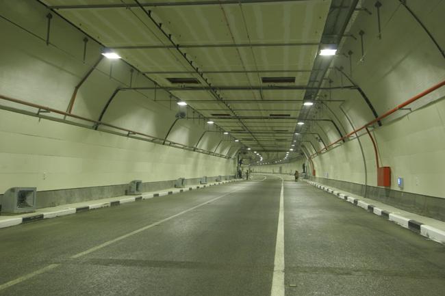 в Северо-Западном тоннеле