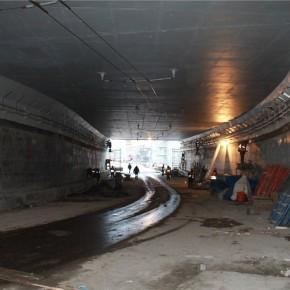 Открыт новый разворотный тоннель на Каширском шоссе