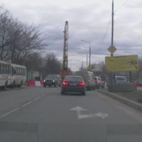 Перекрыта часть Зеленоградской улицы