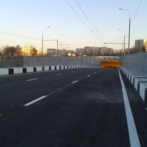 Открыто движение по новым тоннелям под Каширским шоссе