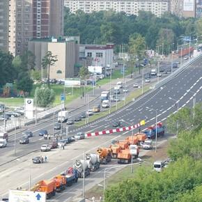 Открыто движение по новой эстакаде на Ярославском шоссе