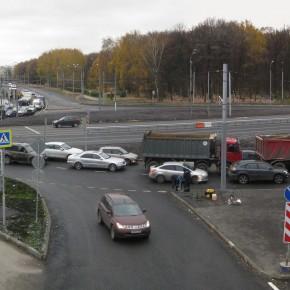 Лучший фотосет октября - реконструкция шоссе Энтузиастов.
