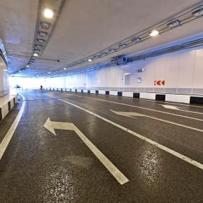 Построен тоннель на развязке МКАД с Дмитровским шоссе