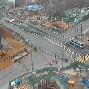 Улица Народного Ополчения будет частично перекрыта с 17 мая