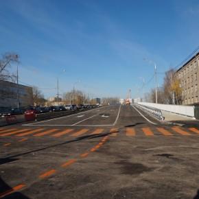 Открыт Коптевский путепровод