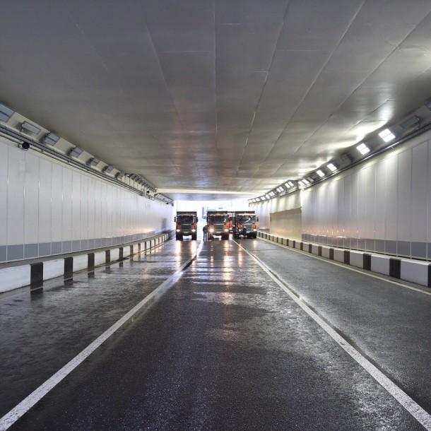 Михалковский тоннель (Большая Академическая улица). Фото vk.com