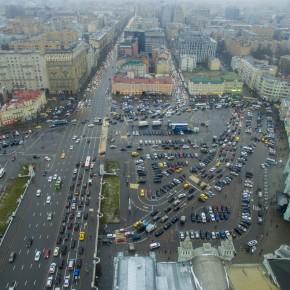 Изменена организация движения на площади Тверской заставы