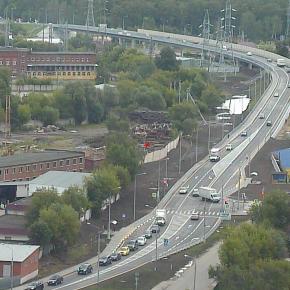 Открыт новый путепровод через ж/д около станции Чехов
