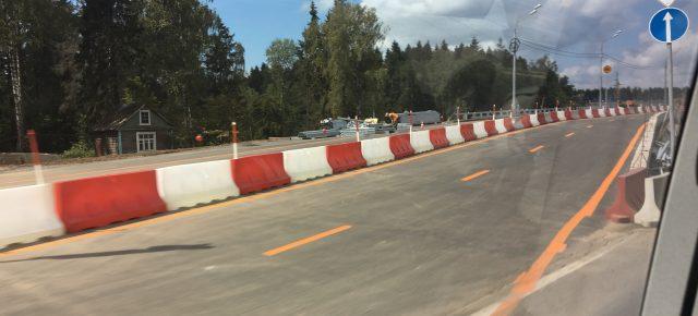 Открыто движение по новому путепроводу на 46-м км Дмитровского шоссе