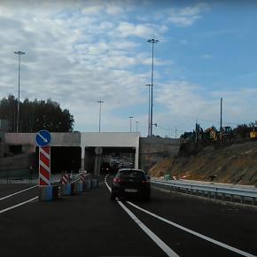 Частично открыто движение на развязке на 41 км Ленинградского шоссе