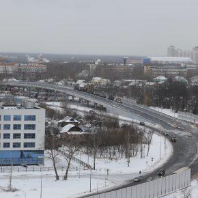 Открыт новый путепровод у платформы Новодачная в Долгопрудном