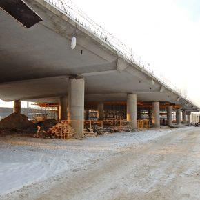 Строительство Северо-восточной хорды — лучший фотосет января 2017