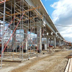 Строительство Северо-восточной хорды — лучший фотосет марта 2017