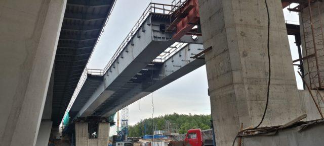 Продолжается строительство второго Крылатского моста