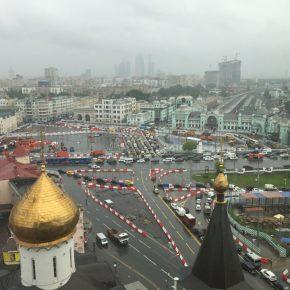 Изменилась схема движения на площади Тверской Заставы