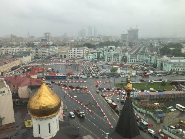 Площадь Тверской Заставы. (с) 2017, Форум Roads.Ru