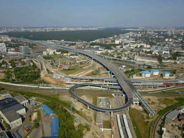 СВХ: участок от Шоссе Энтузиастов до Измайловского шоссе. (с) 2017, Форум ROADS.RU
