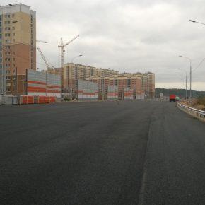 Завершается строительство обхода Звенигорода