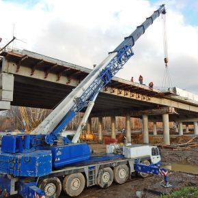 Строительство Северо-восточной хорды — лучший фотосет ноября 2017