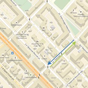 Вновь двухсторонней стала часть улицы Чаянова