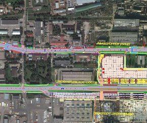 Строительство кольцевой развязки Старошереметьевского шоссе и автомобильной дороги из Лобни