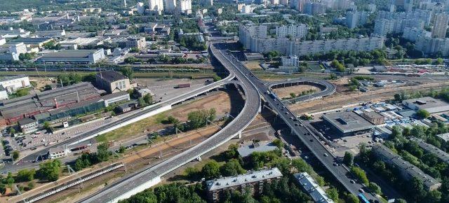 Открыта эстакада Боженко-Толбухина (СЗХ)