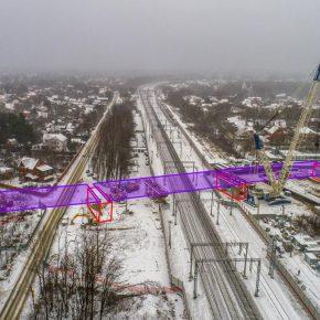 Строительство путепровода через Горьковское направление МЖД в Реутове