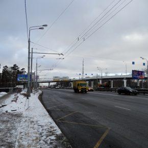 Открыта новая эстакада на Волоколамском шоссе на ул.Курчатова