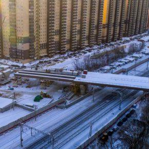 2019: строительство путепровода через Горьковское направление МЖД в Реутове