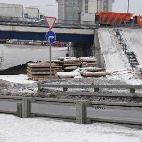Реконструкция развязки МКАД с Волоколамским шоссе началась