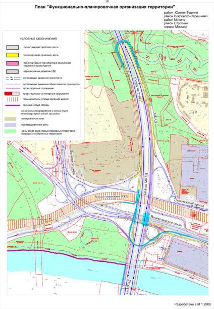 Развязка МКАД и Вололамского шоссе. Roads.ru