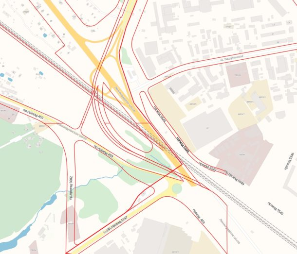 Реконструкция развязки на 25 км Ленинградского шоссе (М-10)