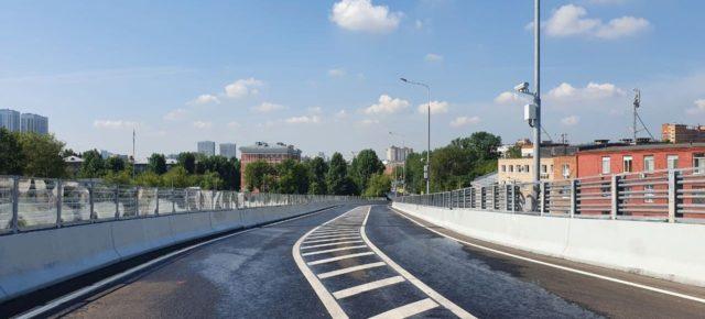 Открыта эстакада на пересечении Северо-Восточной  хорды и 5-м проездом Подбельского