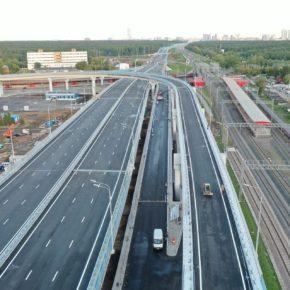 Открыт участок Северо-Восточной хорды от проезда Серебрякова до Лосиноостровской улицы